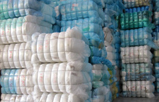 Textile Material from textile waste by Pistoni Srl